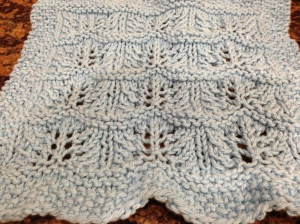 Waves of Lace Dishcloth