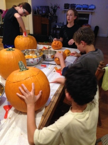 Everyone carves.