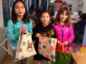 Happy Girl Scouts!
