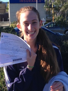 Our newest permitted driver.