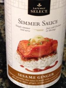 Simmer Sauce.