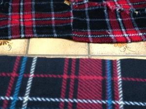Measuring fabric.