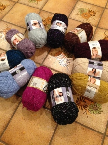 All my yarn colors!