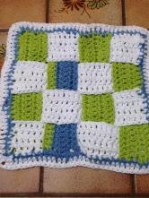 Woven Crochet Square.