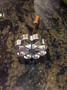 A rosette iron!
