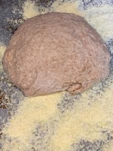 Olive Bread rising.