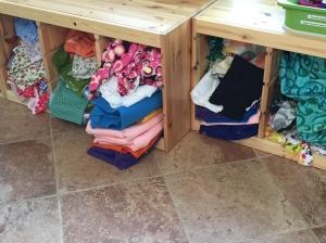 Fabrics for class.
