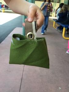 Smaller bag.