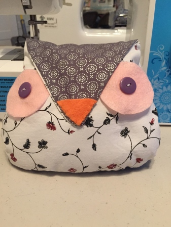 Sample owl for a birthday party Let's Go Crafting organized.