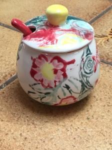 Sugar bowl.