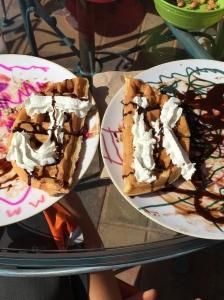 Alphabet waffles :o)