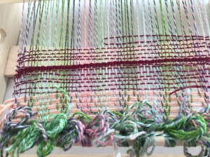 YUCK!!  This is how the weaving turned out!