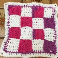 Crochet Woven Square